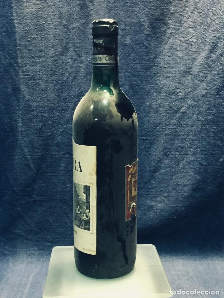 Coleccionismo de vinos y licores: BOTELLA RIOJA OLARRA TINTO - Foto 4 - 173080987