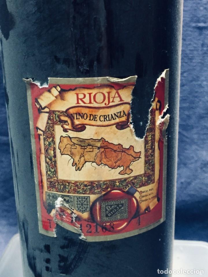 Coleccionismo de vinos y licores: BOTELLA RIOJA OLARRA TINTO - Foto 8 - 173080987