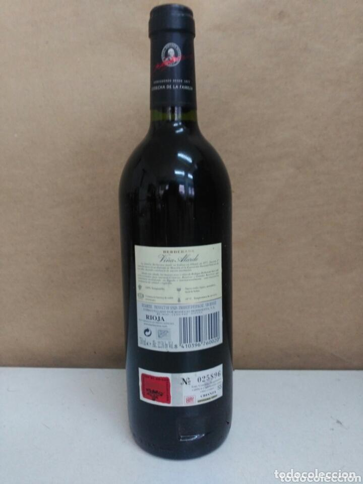 Coleccionismo de vinos y licores: Botella viña alarde crianza 1999 - Foto 3 - 173100440