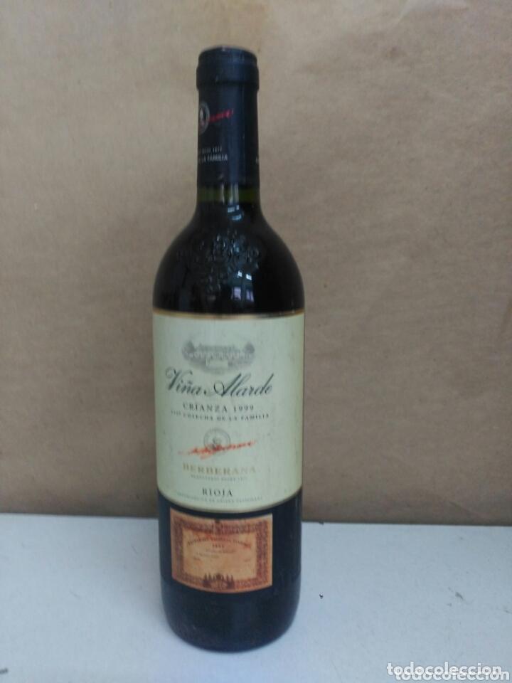 BOTELLA VIÑA ALARDE CRIANZA 1999 (Coleccionismo - Botellas y Bebidas - Vinos, Licores y Aguardientes)