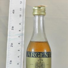 Coleccionismo de vinos y licores: BOTELLITA BOTELLIN BRANDY FINA RESERVA DESTILERIAS G.L. ARGENTI. Lote 173590560