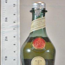 Coleccionismo de vinos y licores: BOTELLITA BOTELLIN D.O.M. BENEDICTINE LIQUEUR BENEDICTINE FRANCE. Lote 173946238