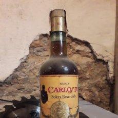 Coleccionismo de vinos y licores: BRANDY CARLOS III SOLERA RESERVADA.. Lote 174166765