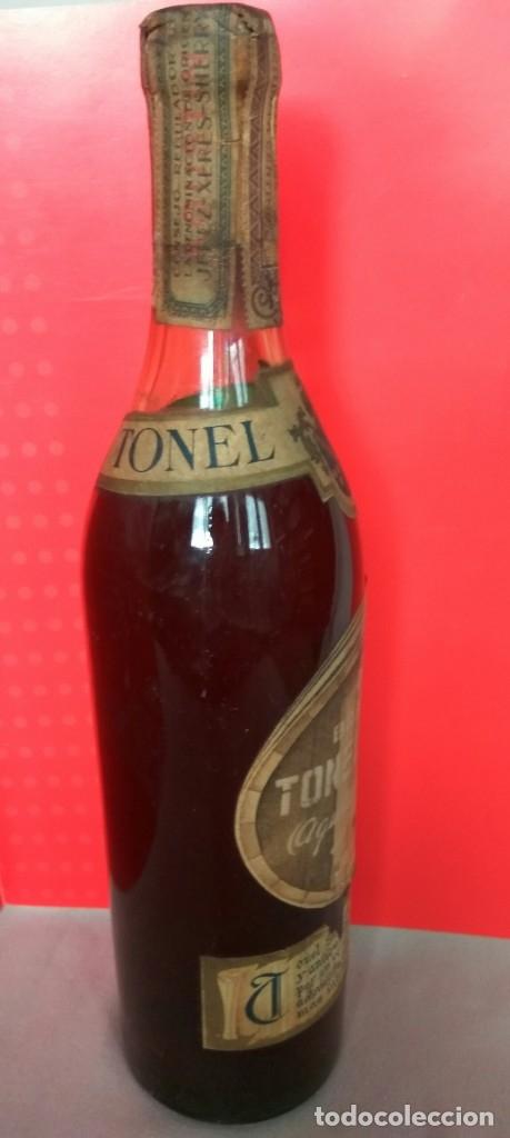 Coleccionismo de vinos y licores: BRANDY TONEL SOLO DE AGUSTIN BLÁZQUEZ, JEREZ - Foto 3 - 174614935