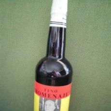 Coleccionismo de vinos y licores: BOTELLA INTACTA FINO HOMENAJE FRANCISCO FRANCO BAHAMONDE . Lote 174881822