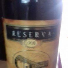 Coleccionismo de vinos y licores: EXCEPCIONAL BOTELLA DE SEÑORIO DE LOS LLANOS. Lote 174910979