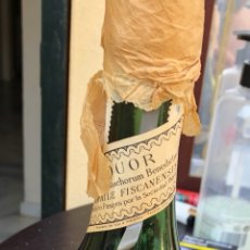 Coleccionismo de vinos y licores: BOTELLA DE BENEDICTINE SELLO DE 8 PESETAS. Lote 174923563
