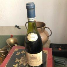 Coleccionismo de vinos y licores: BOTELLA DE VINO FRANCÉS DOMAINE DU CHATEAU, PROVIENE DE BODEGA PARTICULAR. Lote 175753169