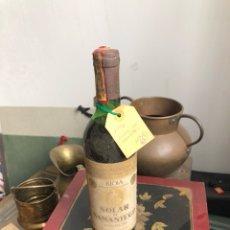 Coleccionismo de vinos y licores: BOTELLA DE VINO SOLAR DE SAMANIEGO 1976 , PROVIENE DE BODEGA PARTICULAR. Lote 175757239