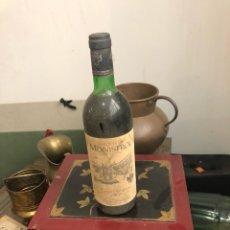 Coleccionismo de vinos y licores: BOTELLA DE VINO GRAN RESERVA MARQUÉS DE MONISTROL 1977,PROVIENE DE BODEGA PARTICULAR. Lote 175888514