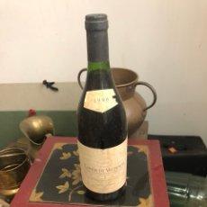 Coleccionismo de vinos y licores: BOTELLA DE VINO CONDE DE VALDEMAR RESERVA 1996 , PROVIENE DE BODEGA PARTICULAR. Lote 175890925
