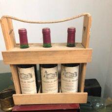 Coleccionismo de vinos y licores: LOTE DE 3 BOTELLAS CASTILLO DE MÚDELA 1997, PROVIENE DE BODEGA PARTICULAR. Lote 175891133