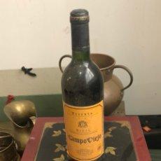 Coleccionismo de vinos y licores: BOTELLA DE VINO CAMPO VIEJO RESERVA 1987, PROVIENE DE BODEGA PARTICULAR. Lote 175891372