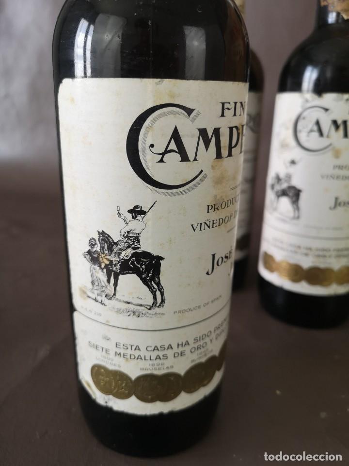 Coleccionismo de vinos y licores: CAJA DE 10 BOTELLAS DE JEREZ JOSE DE SOTO FINO CAMPERO AÑOS 60 SIN ABRIR - Foto 6 - 175901960