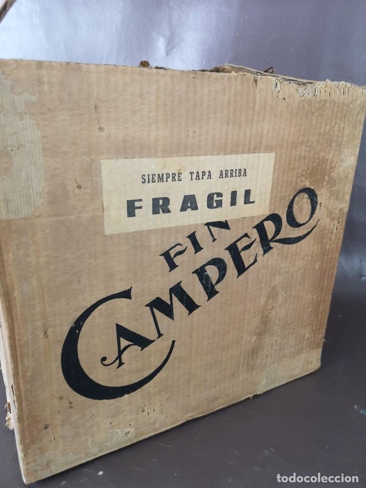Coleccionismo de vinos y licores: CAJA DE 10 BOTELLAS DE JEREZ JOSE DE SOTO FINO CAMPERO AÑOS 60 SIN ABRIR - Foto 15 - 175901960