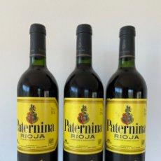 Coleccionismo de vinos y licores: 3 BOTELLAS PATERNINA RESERVA 1994. Lote 176277977