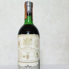 Collezionismo di vini e liquori: BOTELLA DE VINO MARQUÉS DE RISCAL COSECHA 1981. ELCIEGO (ÁLAVA). Lote 194184076
