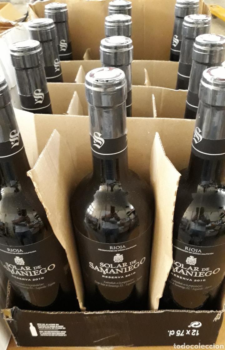 RIOJA RESERVA SOLAR DE SAMANIEGO (Coleccionismo - Botellas y Bebidas - Vinos, Licores y Aguardientes)