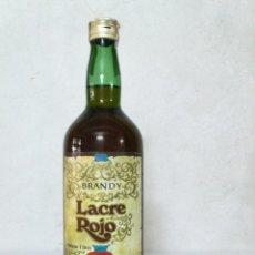 Coleccionismo de vinos y licores: BOTELLA DE BRANDY LACRE ROJO.ANTICH,S.A.. Lote 176693568