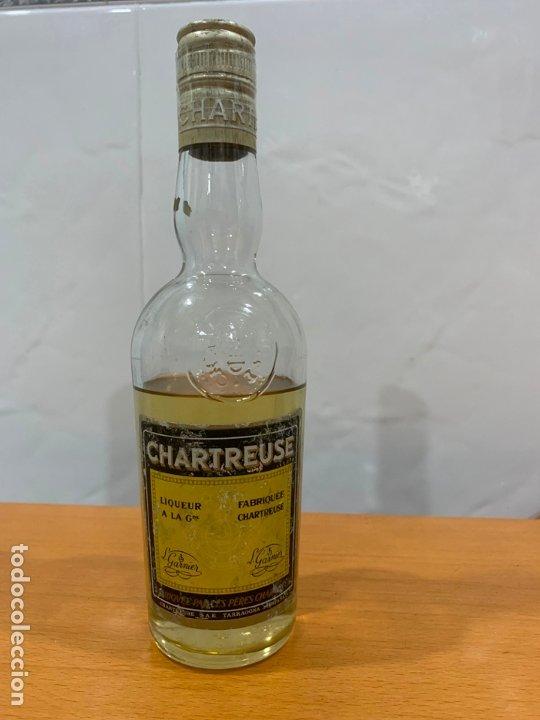 CHARTREUSE TARRAGONA BOTELLA ABIERTA 24 CMS (Coleccionismo - Botellas y Bebidas - Vinos, Licores y Aguardientes)