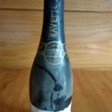 Coleccionismo de vinos y licores: BOTELLA CAVA GRAN CREMANT RAVENTÓS CATASÚS. SEMI - SECO 75 ANIVERSARIO FUNDACIÓN F.C. BARCELONA. Lote 176996023