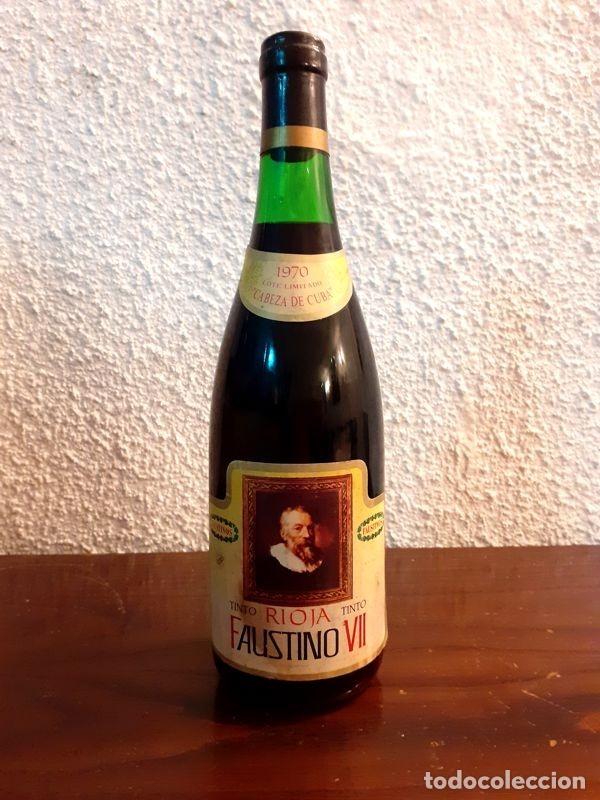FAUSTINO VII - GRAN RESERVA - 1970 - VINO TINTO RIOJA (Coleccionismo - Botellas y Bebidas - Vinos, Licores y Aguardientes)