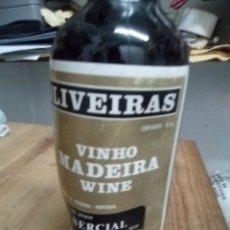 Coleccionismo de vinos y licores: VINO MADEIRA BOTELLA DEFECTUOSA. Lote 177415972