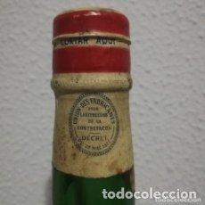 Coleccionismo de vinos y licores: ANTIGUA Y PRECINTADA BOTELLA DE RON, RHUM NEGRITA BARDINET. Lote 177619319