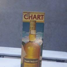 Coleccionismo de vinos y licores: BOTELLA CHARTREUSE TARRAGONS AMARILLO SIN ABRIR CON CAJA. Lote 177642309