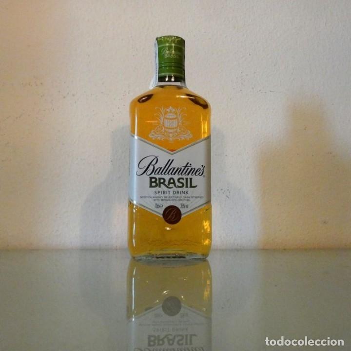 Coleccionismo de vinos y licores: LOTE 3 BOTELLAS BALLANTINES BRASIL - Foto 3 - 177647444