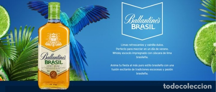 Coleccionismo de vinos y licores: LOTE 3 BOTELLAS BALLANTINES BRASIL - Foto 4 - 177647444