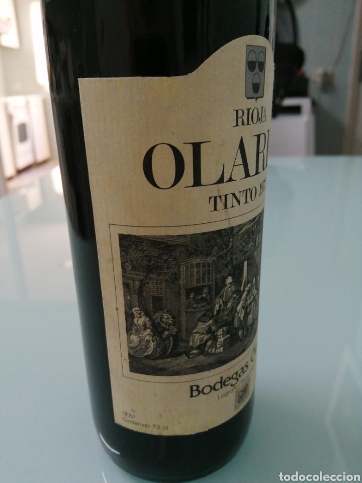 Coleccionismo de vinos y licores: OLARRA TINTO DE CRIANZA DE 1973. RIOJA BODEGAS OLARRA. - Foto 3 - 177721462