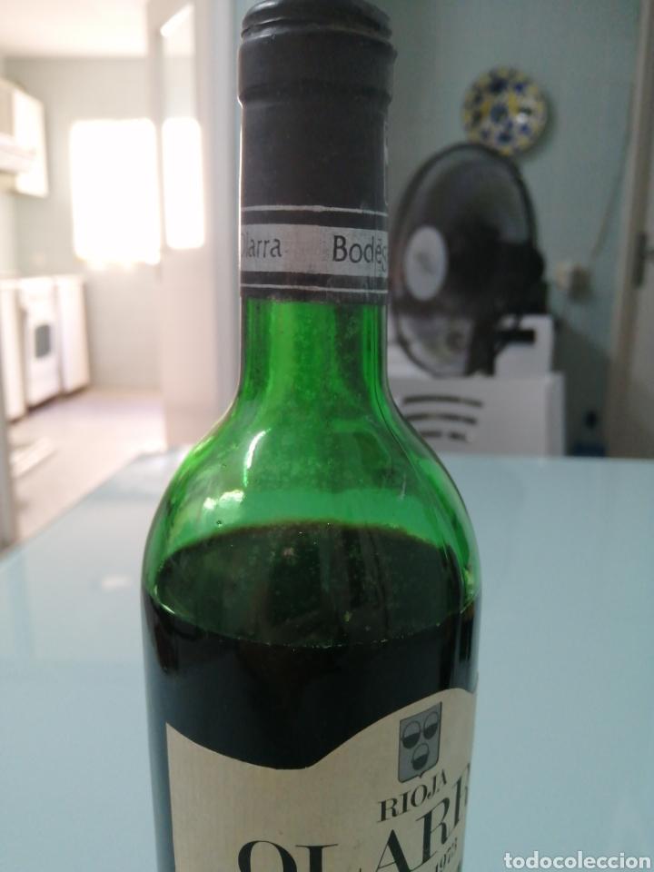 Coleccionismo de vinos y licores: OLARRA TINTO DE CRIANZA DE 1973. RIOJA BODEGAS OLARRA. - Foto 8 - 177721462