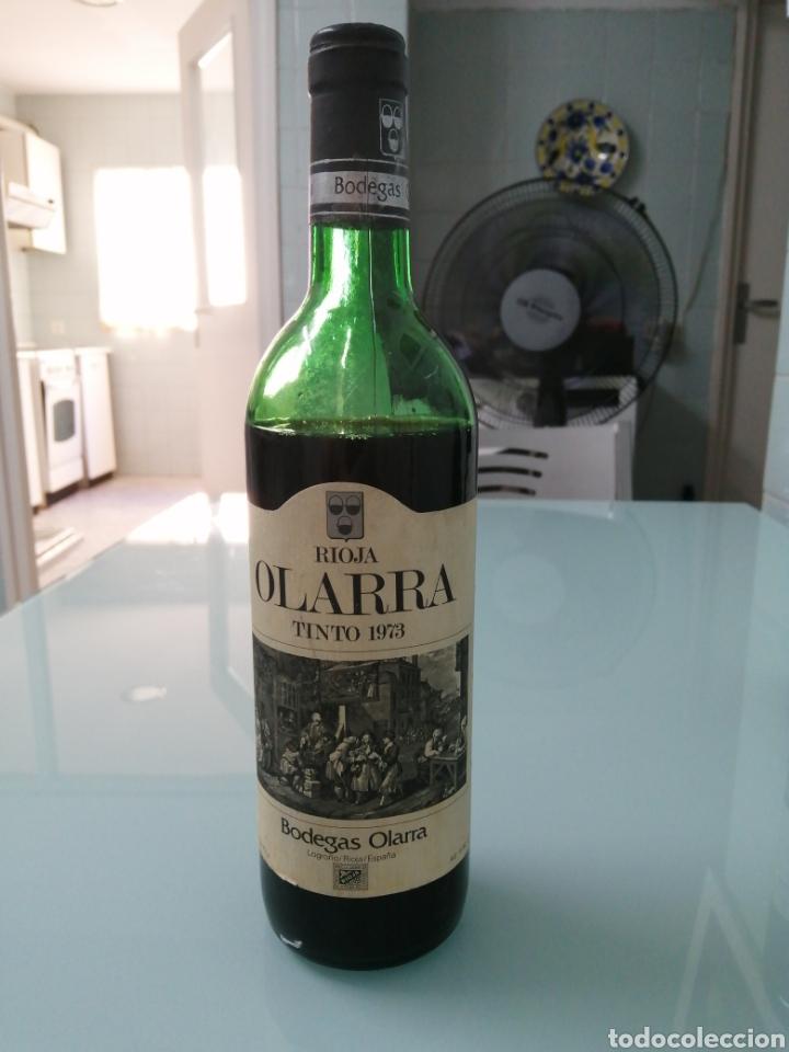 OLARRA TINTO DE CRIANZA DE 1973. RIOJA BODEGAS OLARRA. (Coleccionismo - Botellas y Bebidas - Vinos, Licores y Aguardientes)