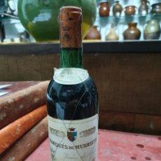 Coleccionismo de vinos y licores: BOTELLA DE VINO MARQUES DE MURRIETA R 1970.. Lote 195272520
