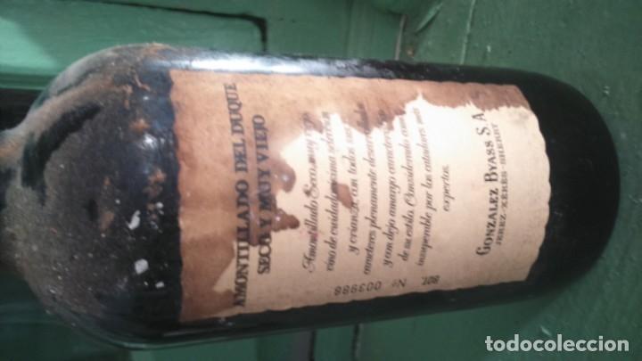 Coleccionismo de vinos y licores: PIEZA UNICA exclusivo amontillado de jerez del duque González byass vors - Foto 3 - 177823732