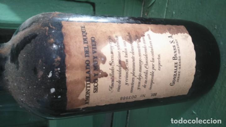 Coleccionismo de vinos y licores: PIEZA UNICA exclusivo amontillado de jerez del duque González byass vors - Foto 4 - 177823732