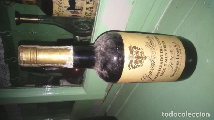 Coleccionismo de vinos y licores: PIEZA UNICA exclusivo amontillado de jerez del duque González byass vors - Foto 5 - 177823732