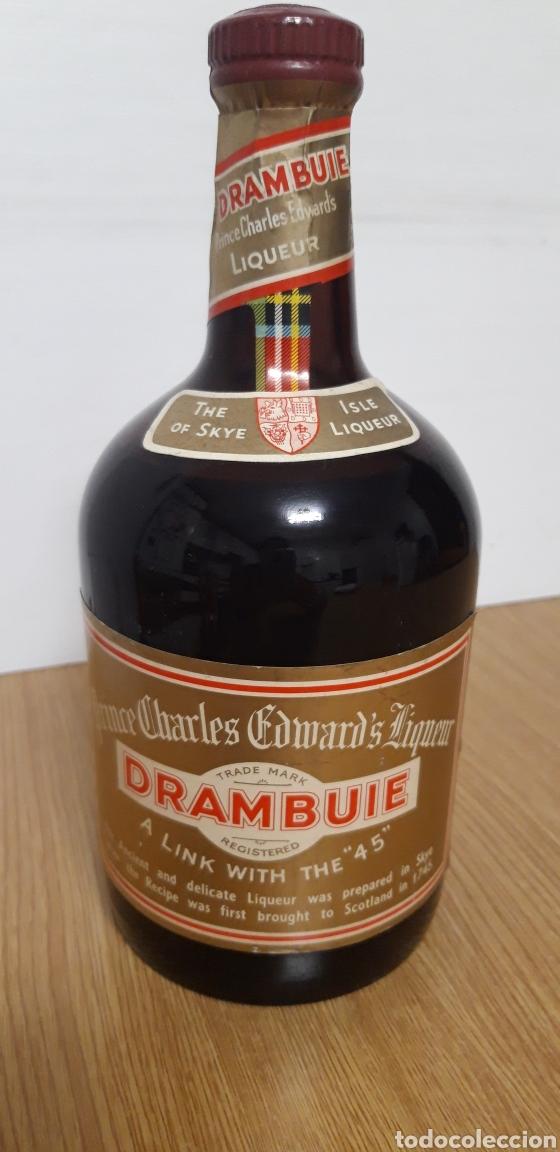 ANTIGUA BOTELLA DE LICOR DRAMBUIE (Coleccionismo - Botellas y Bebidas - Vinos, Licores y Aguardientes)