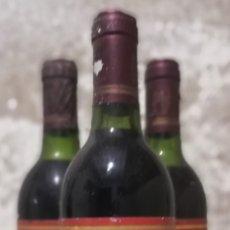 Coleccionismo de vinos y licores: TRES BOTELLAS DE VINO PALACIO DE ARGANZA 1989. Lote 178160370