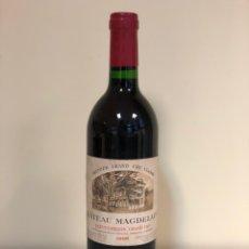 Coleccionismo de vinos y licores: VINO - CHEATEAU MAGDELAINE PREMIER GRAND CRU 1986. Lote 178229060