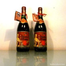 Coleccionismo de vinos y licores: LOTE 2 BOTELLAS PALACIO DE ARGANZA 1948 - VINO DE COLECCIÓN. Lote 178320891