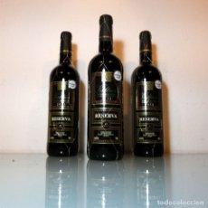 Coleccionismo de vinos y licores: LOTE 3 BOTELLAS VALTIER - RESERVA - 2013. Lote 178396802