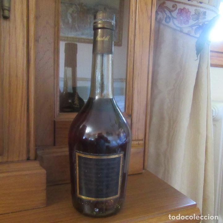 Coleccionismo de vinos y licores: botella cognac brandy martell cordon bleu - Foto 5 - 178443325