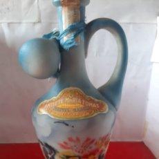 Coleccionismo de vinos y licores: BONITA BOTELLA ANTIGUA ANISETES MARÍA TOMÁS DESTILERÍA MANUEL GARCÍA JÁTIVA. Lote 178593222