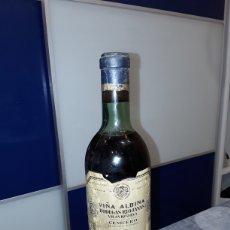 Coleccionismo de vinos y licores: VIÑA ALBINA RESERVA 1961 SIN ABRIR. Lote 265756039