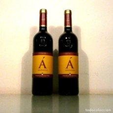 Coleccionismo de vinos y licores: LOTE 2 BOTELLAS ÁNDALUS - VINO TINTO - MÁLAGA. Lote 178645727