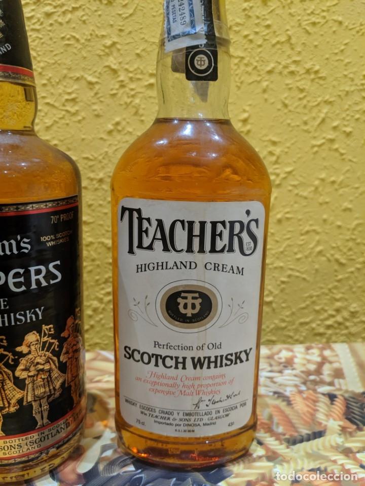 Coleccionismo de vinos y licores: whisky lote 3 botellas año 1980 - Foto 2 - 178828462