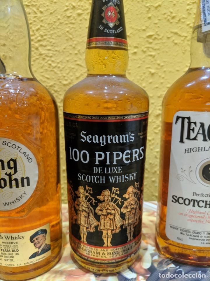 Coleccionismo de vinos y licores: whisky lote 3 botellas año 1980 - Foto 3 - 178828462