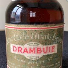 Coleccionismo de vinos y licores: BOTELLA DRAMBUIE ANTIGUA LICOR. Lote 179094397